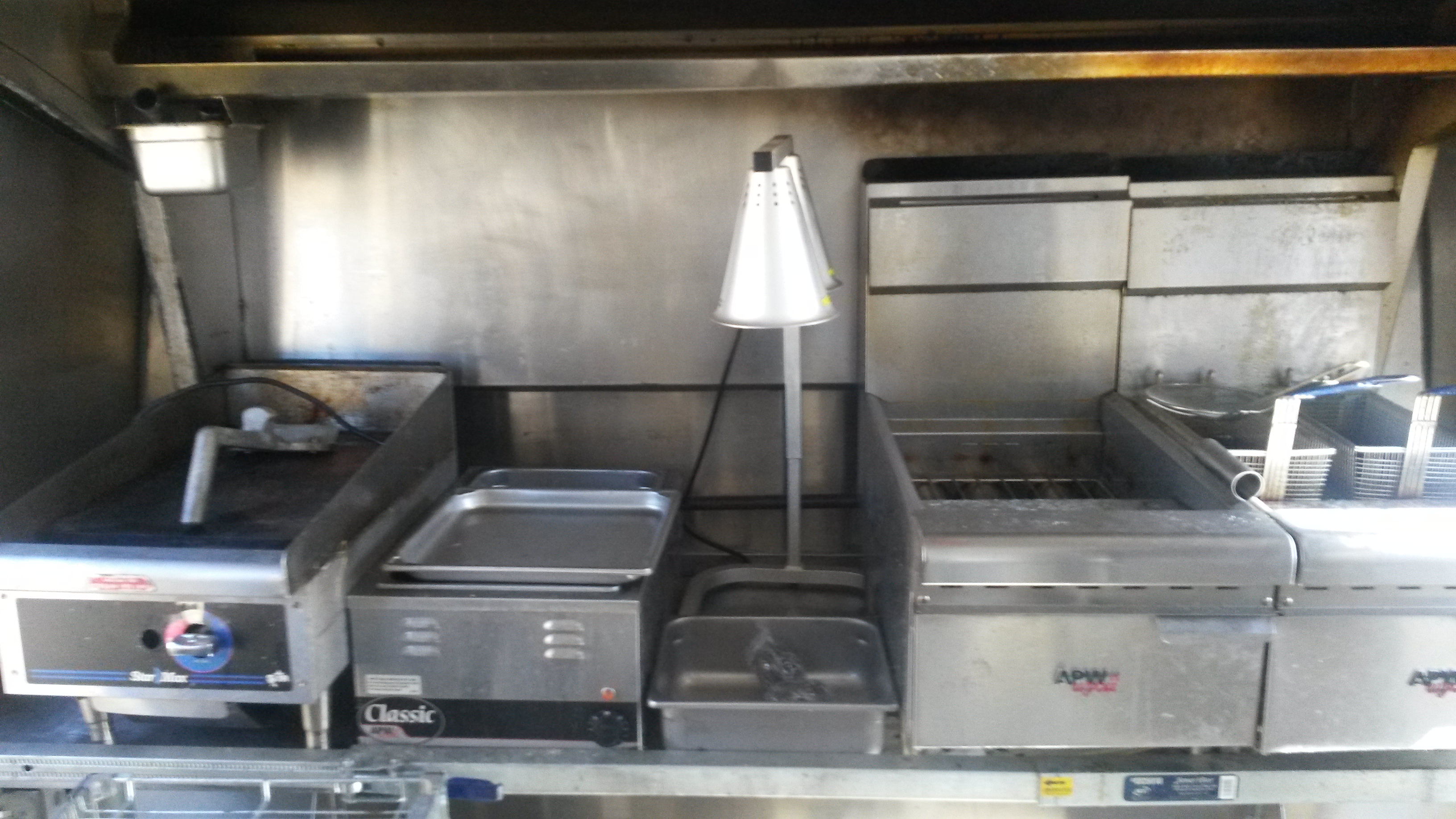 2002 Shuttle Bus Converted into Fried Bread Truck For Sale ...