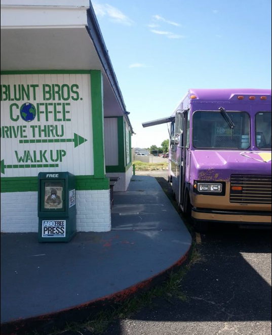 Just another day on the S'wich It Up food truck.