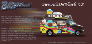Biz on Wheels Logo