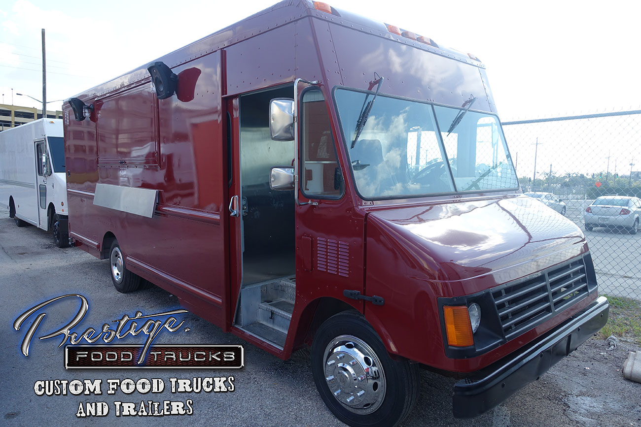 2009 chevy gasoline 18ft food truck 89 500 ready to be vinyl wrapped shipped to you. Black Bedroom Furniture Sets. Home Design Ideas