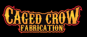 caged crow logo