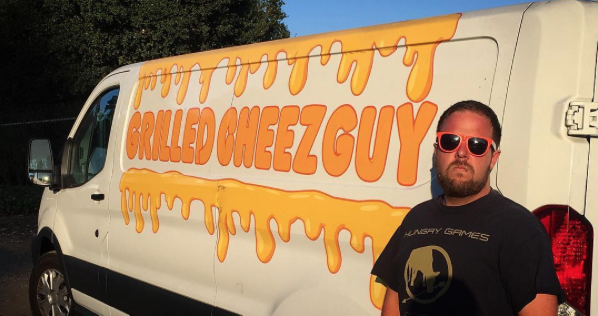 grilled cheese guy