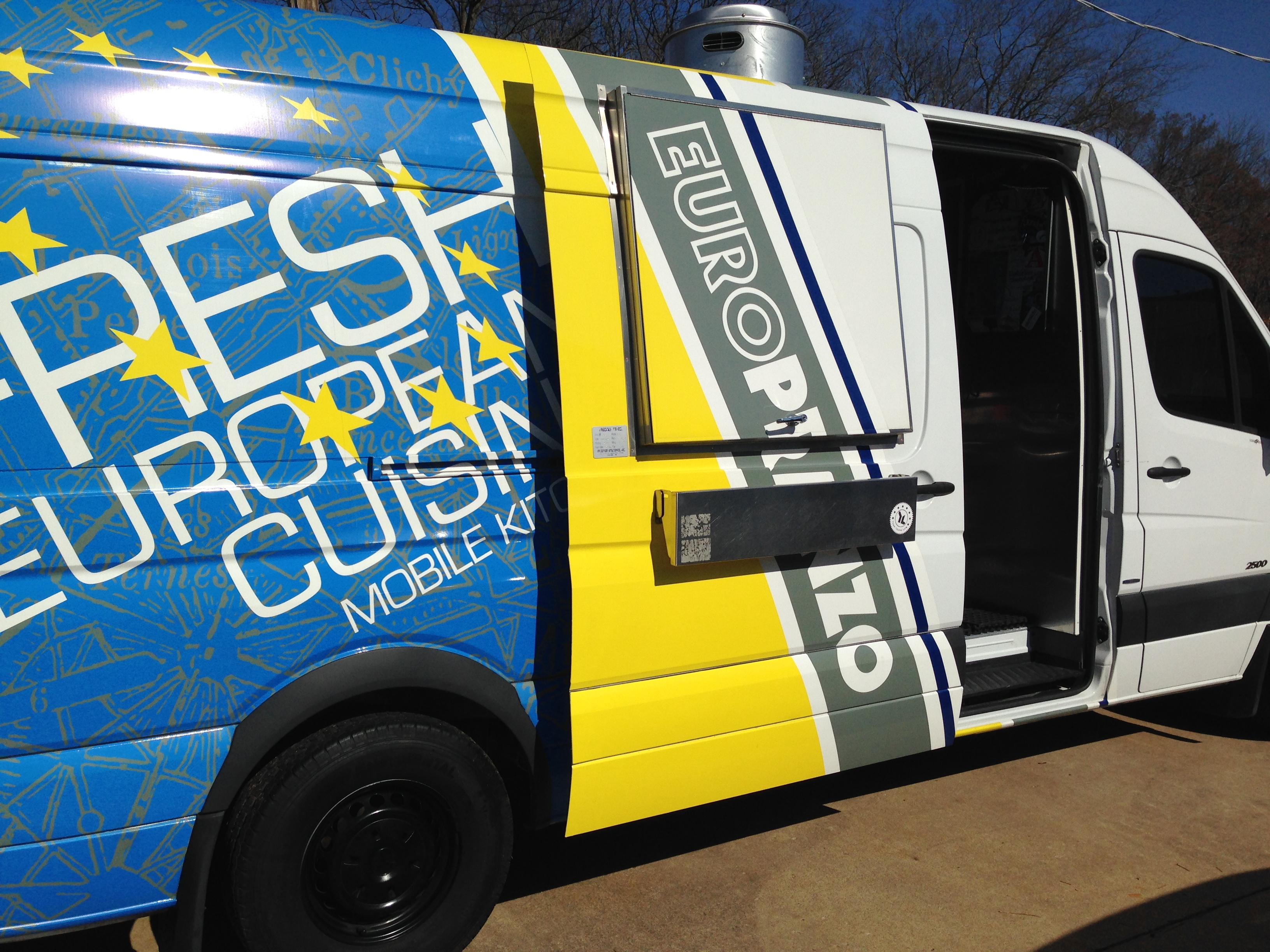 Tulsa Food Truck Builder