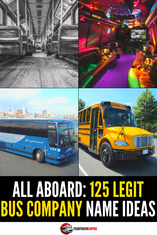 125 bus company name ideas