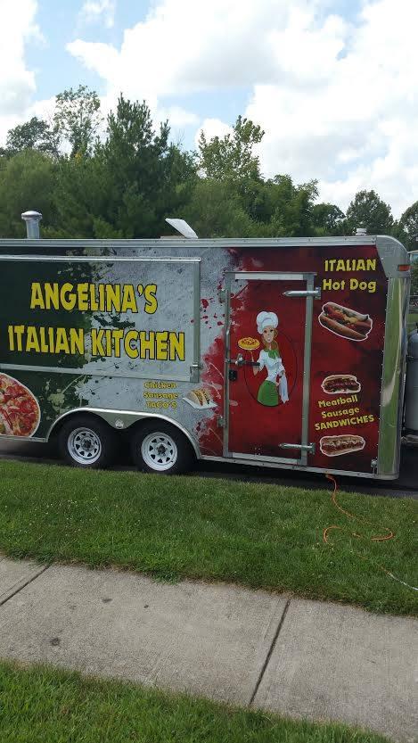 Angelina\'s Italian Kitchen Food Trailer For Sale -