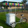 solar powered ice cream bike
