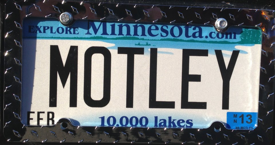 motley crews plate