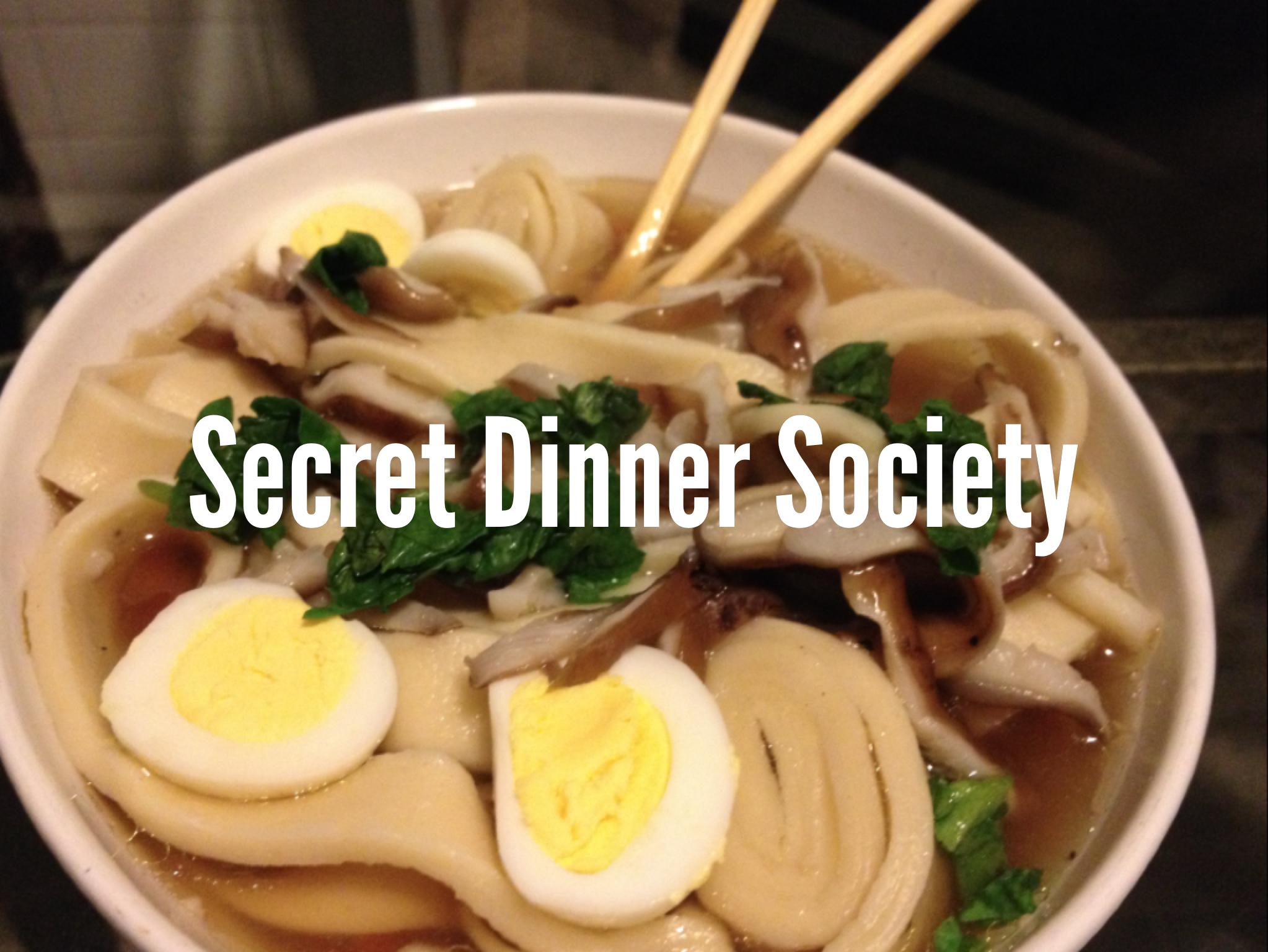 Secret Dinner Society