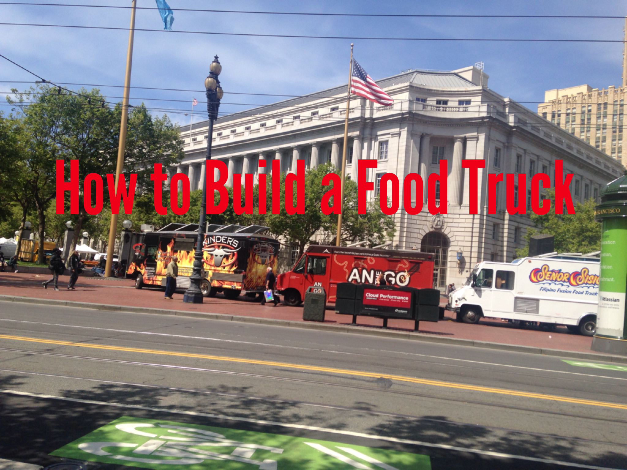 Campervans For Sale >> How to Build a Food Truck Yourself - A Simple Guide