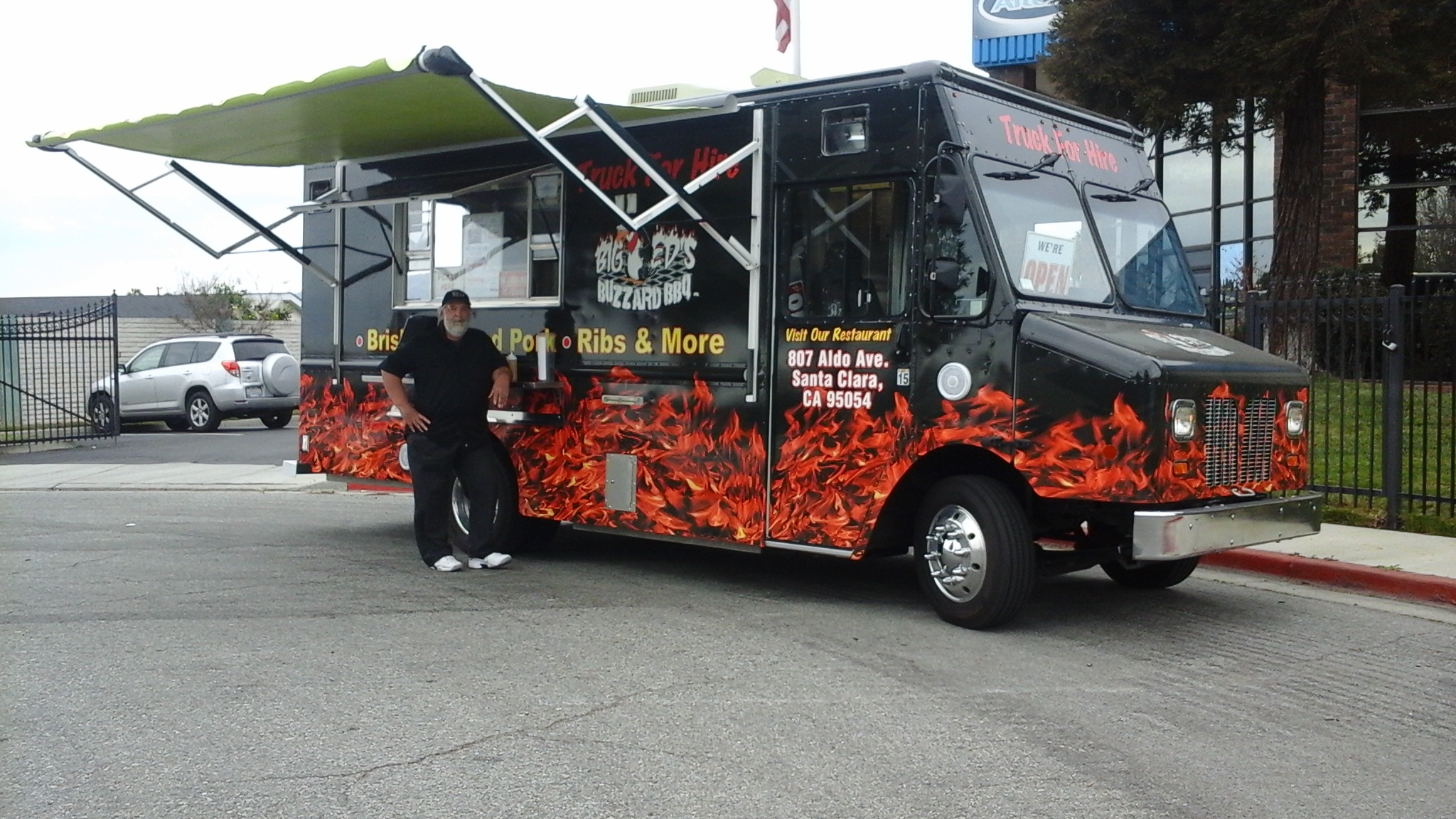 2012 Chevy Workhorse BBQ Food Truck For Sale in San Jose -
