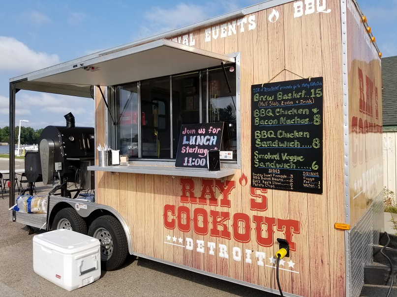 Ray's Cookout Trailer
