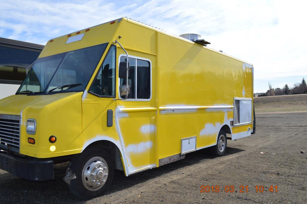2009 workhorse w42 18 39 food truck for sale in wyoming. Black Bedroom Furniture Sets. Home Design Ideas