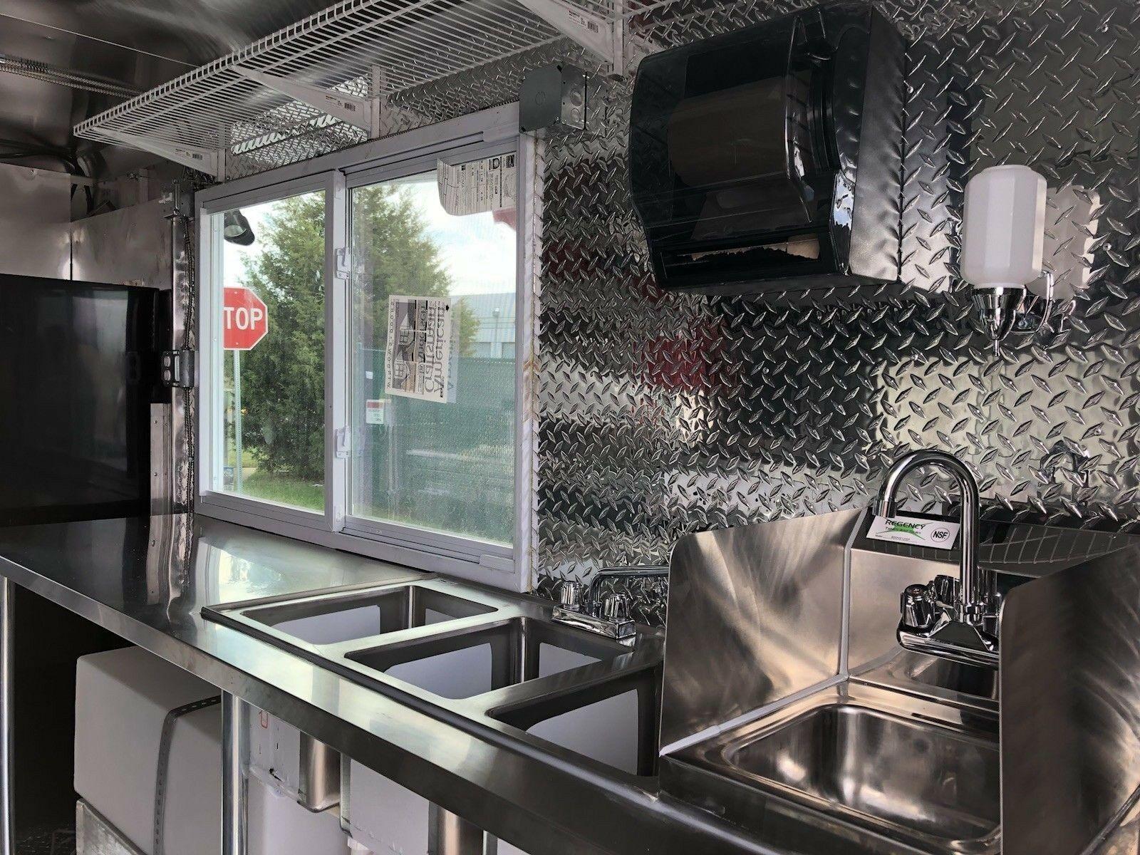 Used 1998 International Frozen Yogurt Truck For Sale -