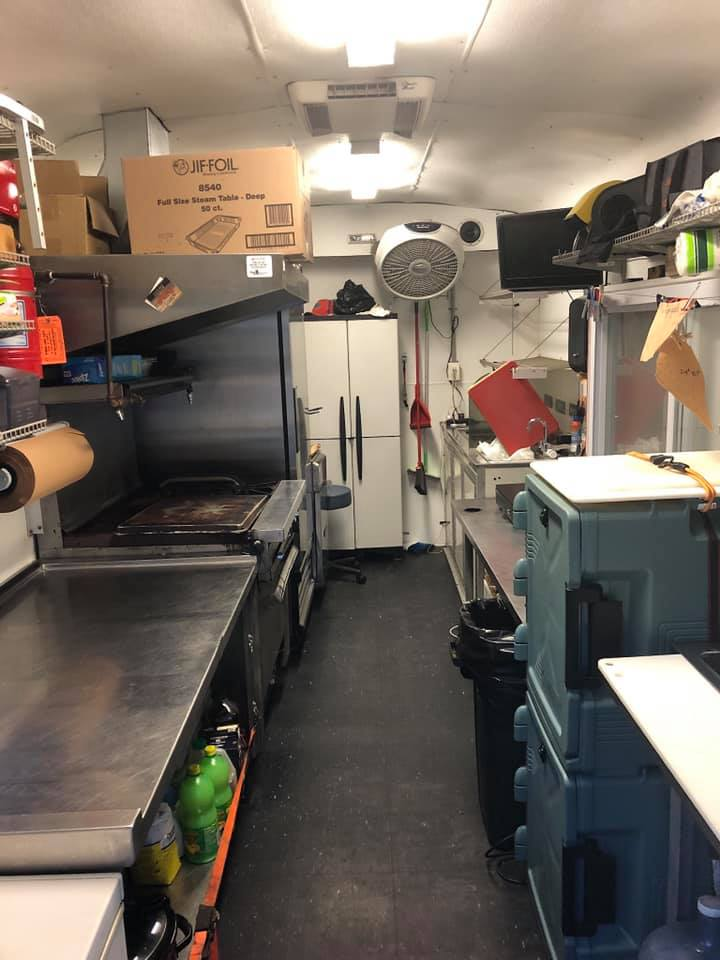 Bbq Express Food Trailer For Sale In St Petersburg Fl