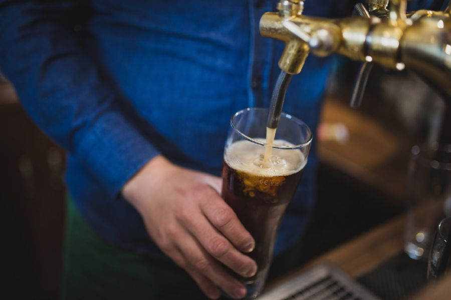 'A pint a day keeps the doctor away' - at least we hope so
