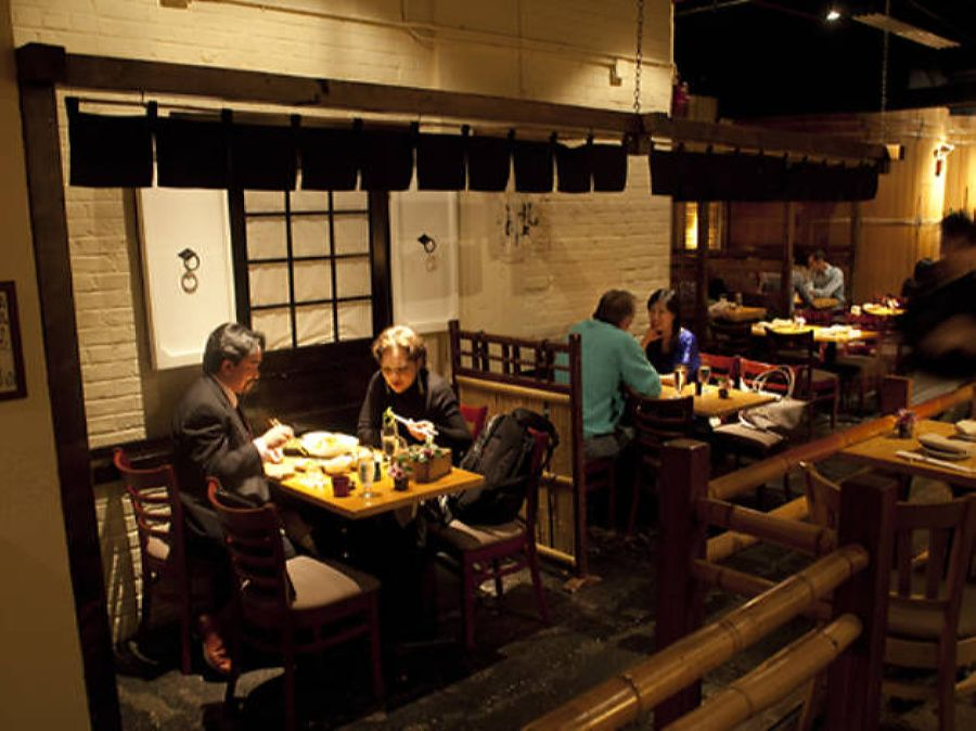 A typical Japanese restaurant in the US