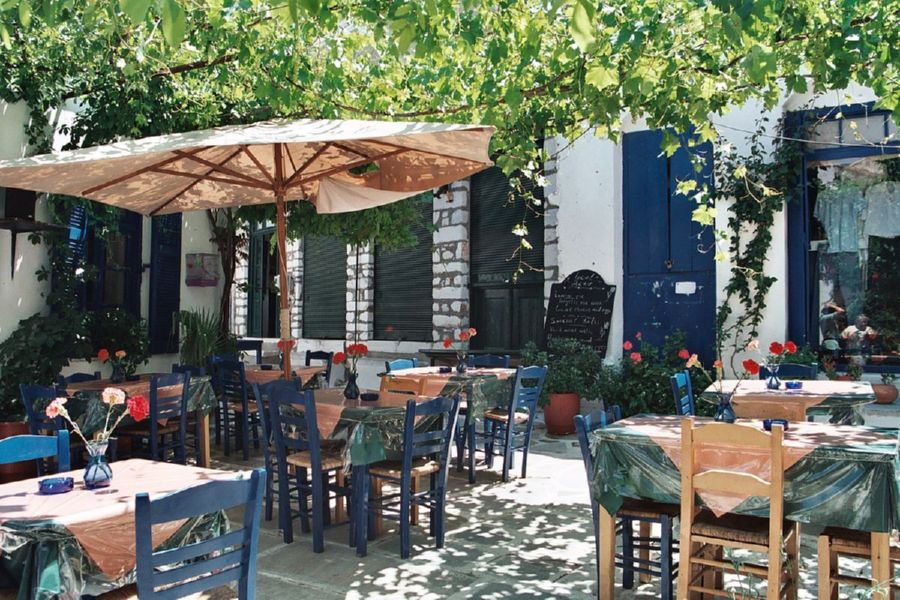 """Any Greek word followed by """"café"""" works for Greek Cafes"""
