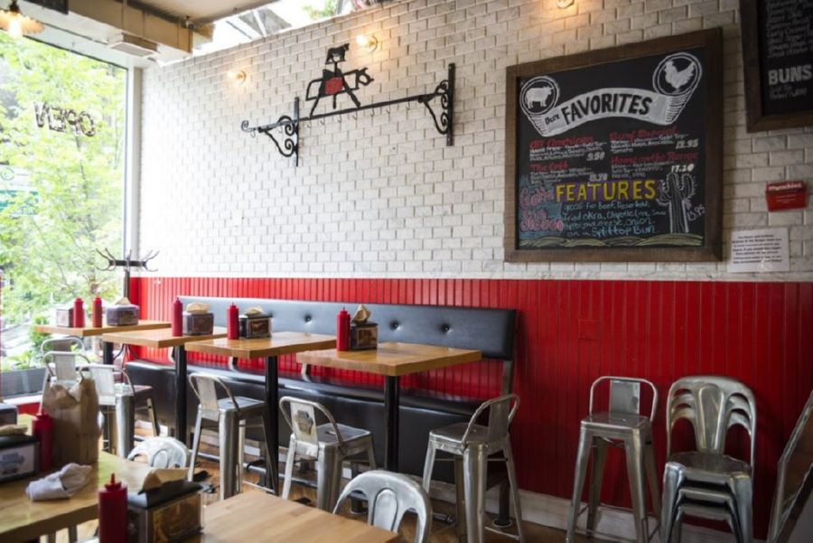 Burger Restaurants offer a wider choice of burgers and other items