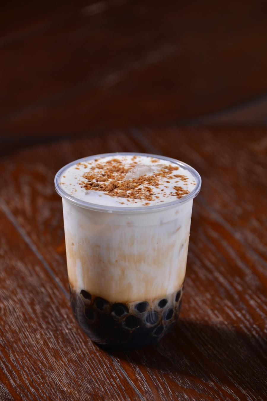Frothy Boba Pearl Milk Tea
