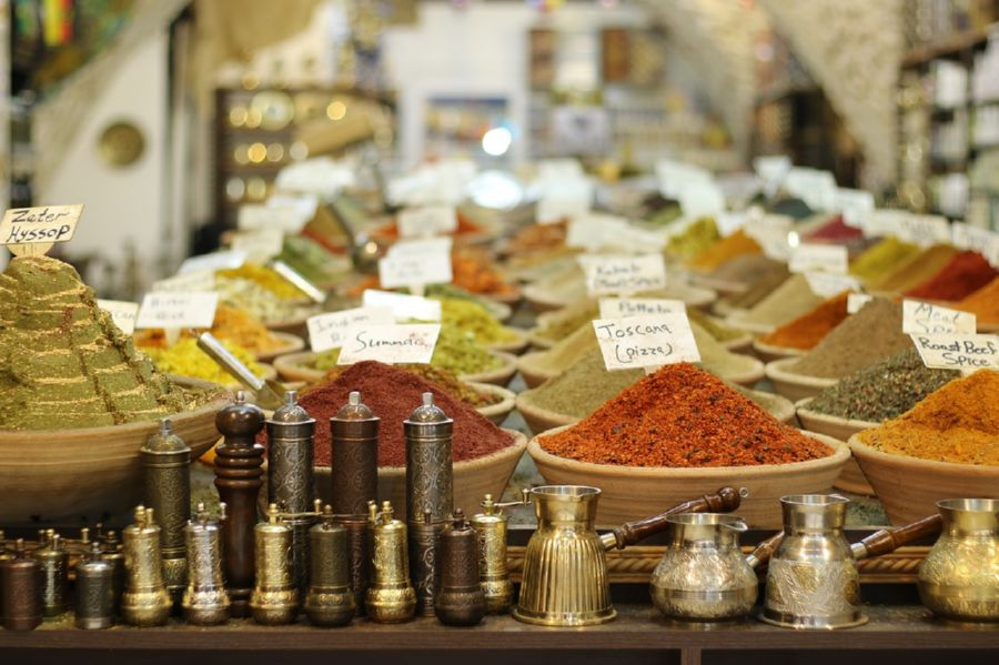 Give your spice shop a name people will easily remember