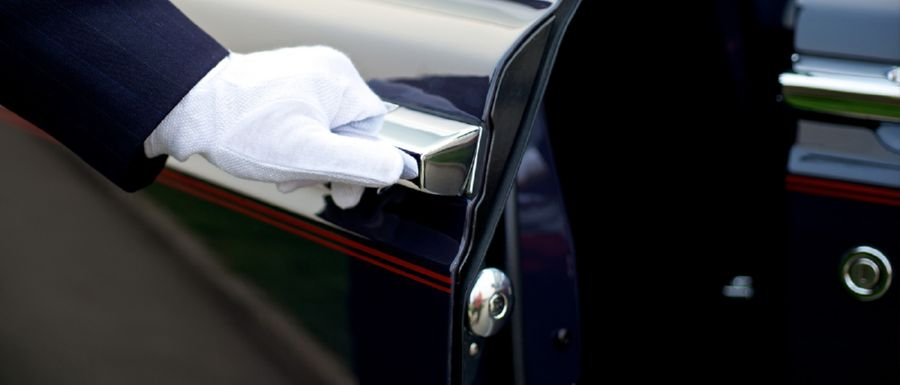 Having a chauffeur service means you provide the ultimate in luxury transport