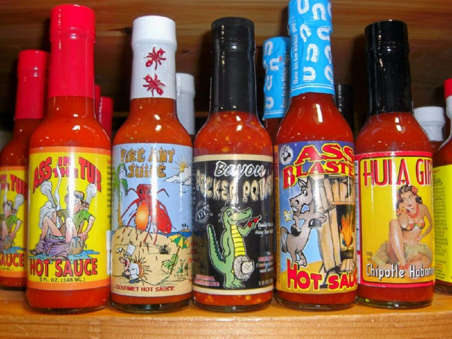 Hot sauce brands can have some of the funniest and strangest of names