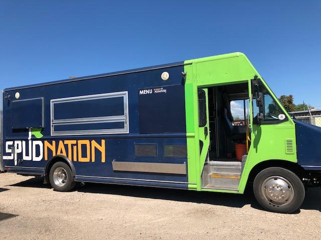 spud nation 32 ft food truck for sale in denver. Black Bedroom Furniture Sets. Home Design Ideas