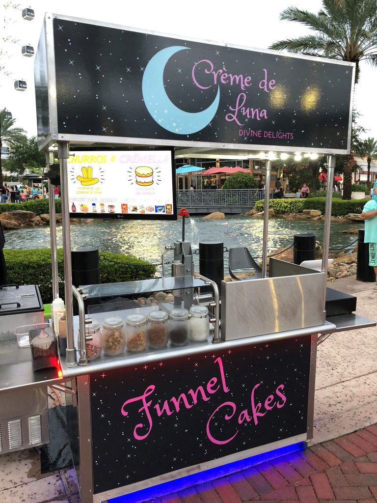 Food Sale: Churro And Funnel Cake Cart For Sale In Orlando, Florida