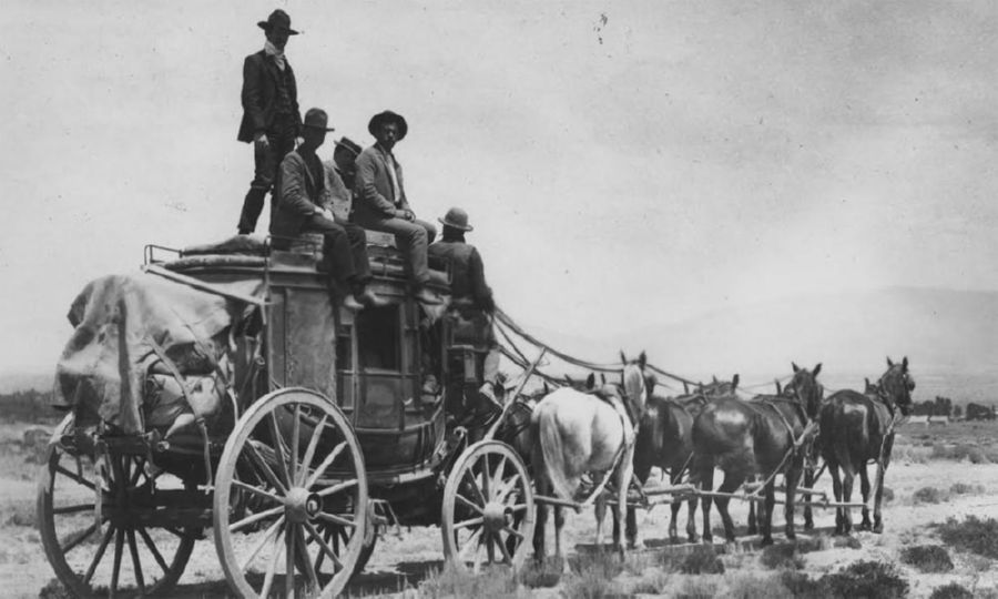 Modern buses are much more comfortable than the stagecoaches were