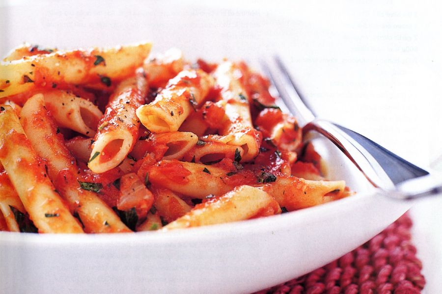 Not all pasta sauces contain tomatoes