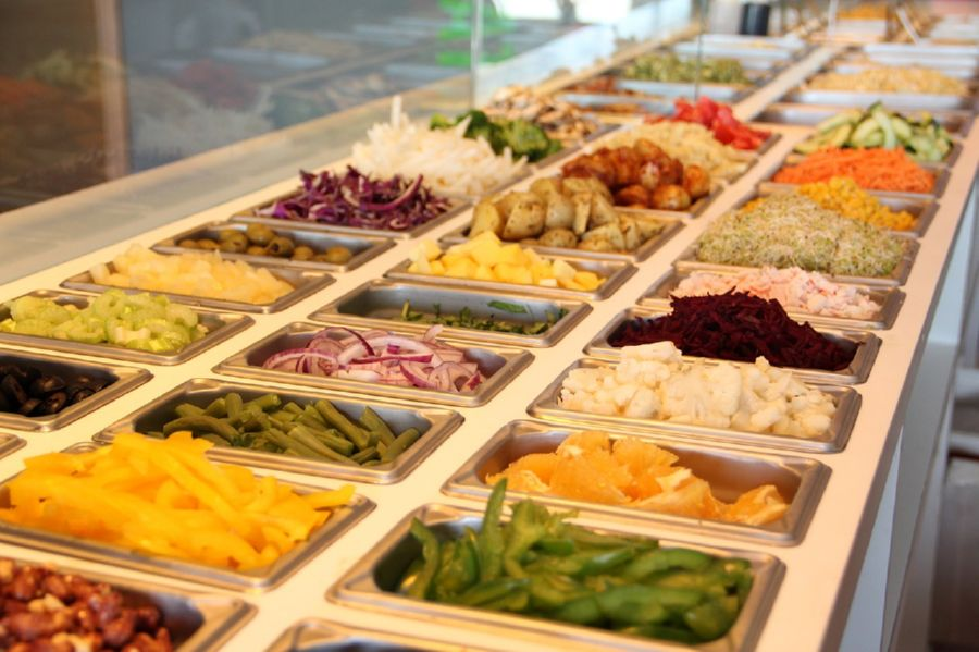 Open a salad bar to showcase your dressings
