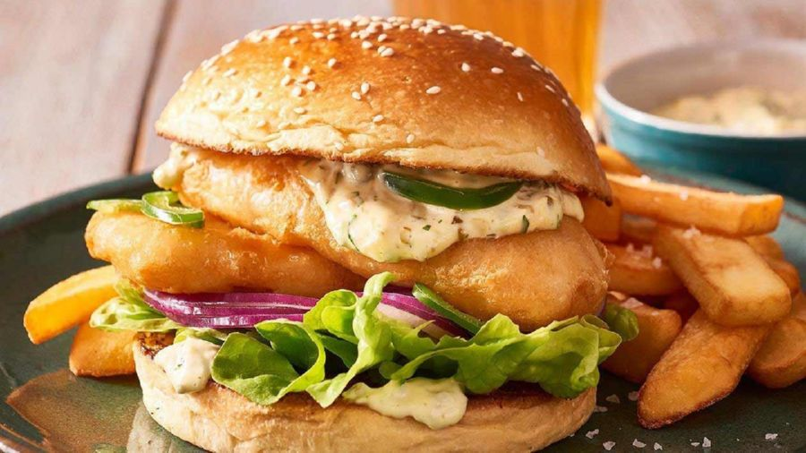 Tasty Fish Burgers are becoming increasingly popular