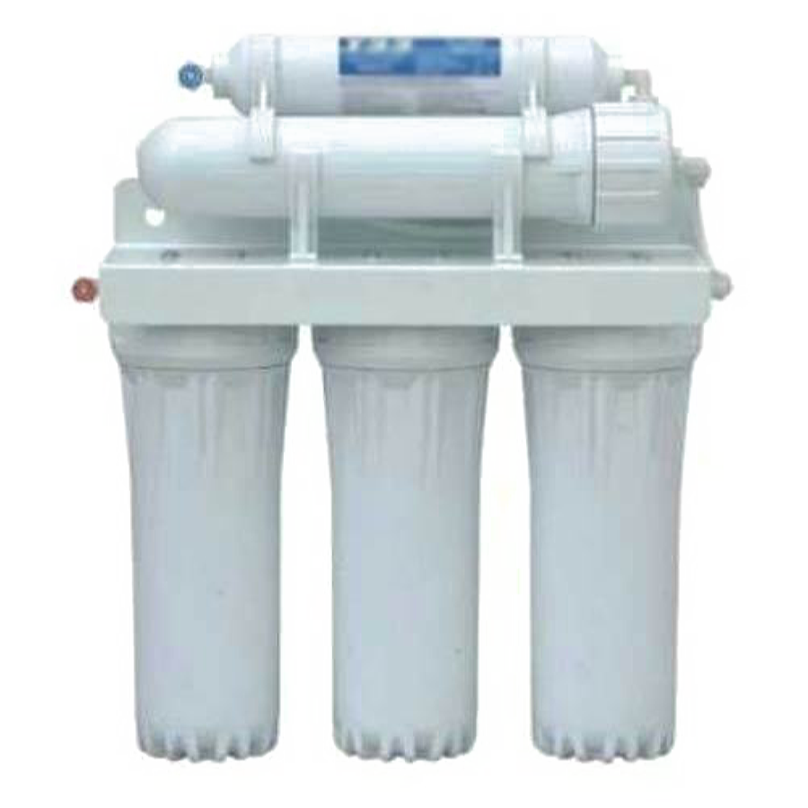 The most common water purifier, fitted to the pipes in your home