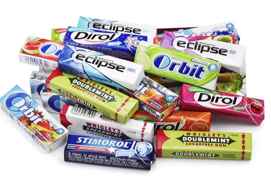 There are many brands of gum on the market