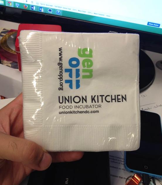Union Kitchen Napkin