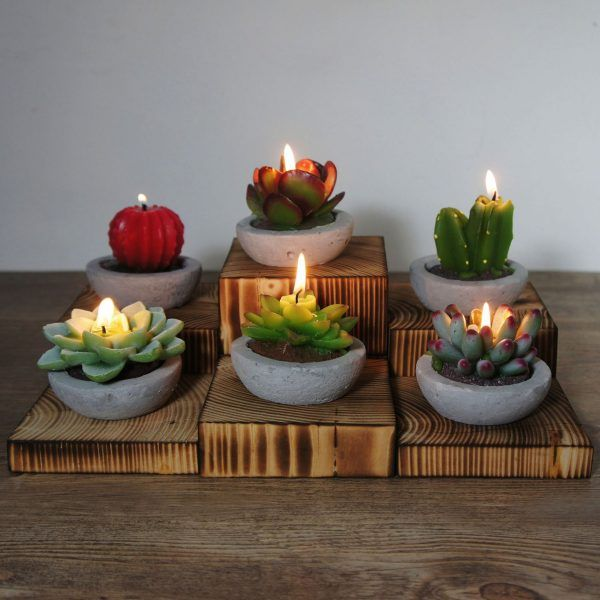 Unique candles are a great idea for a business