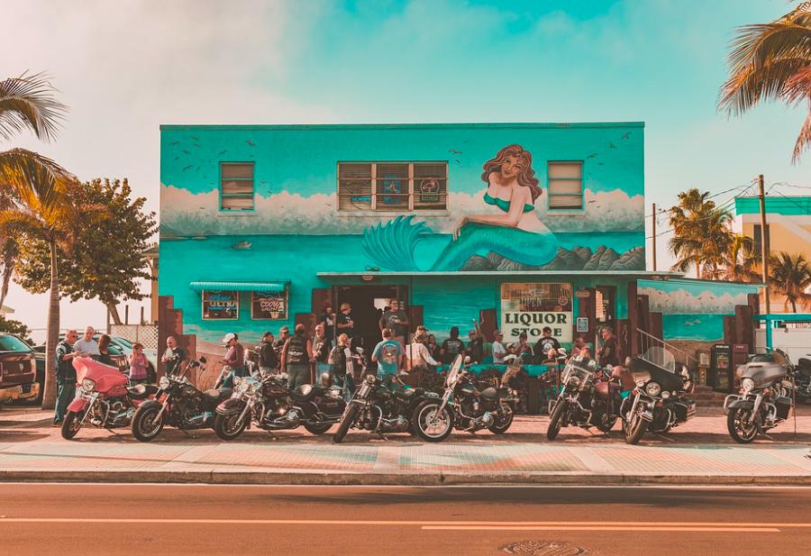 bike bar liquor store