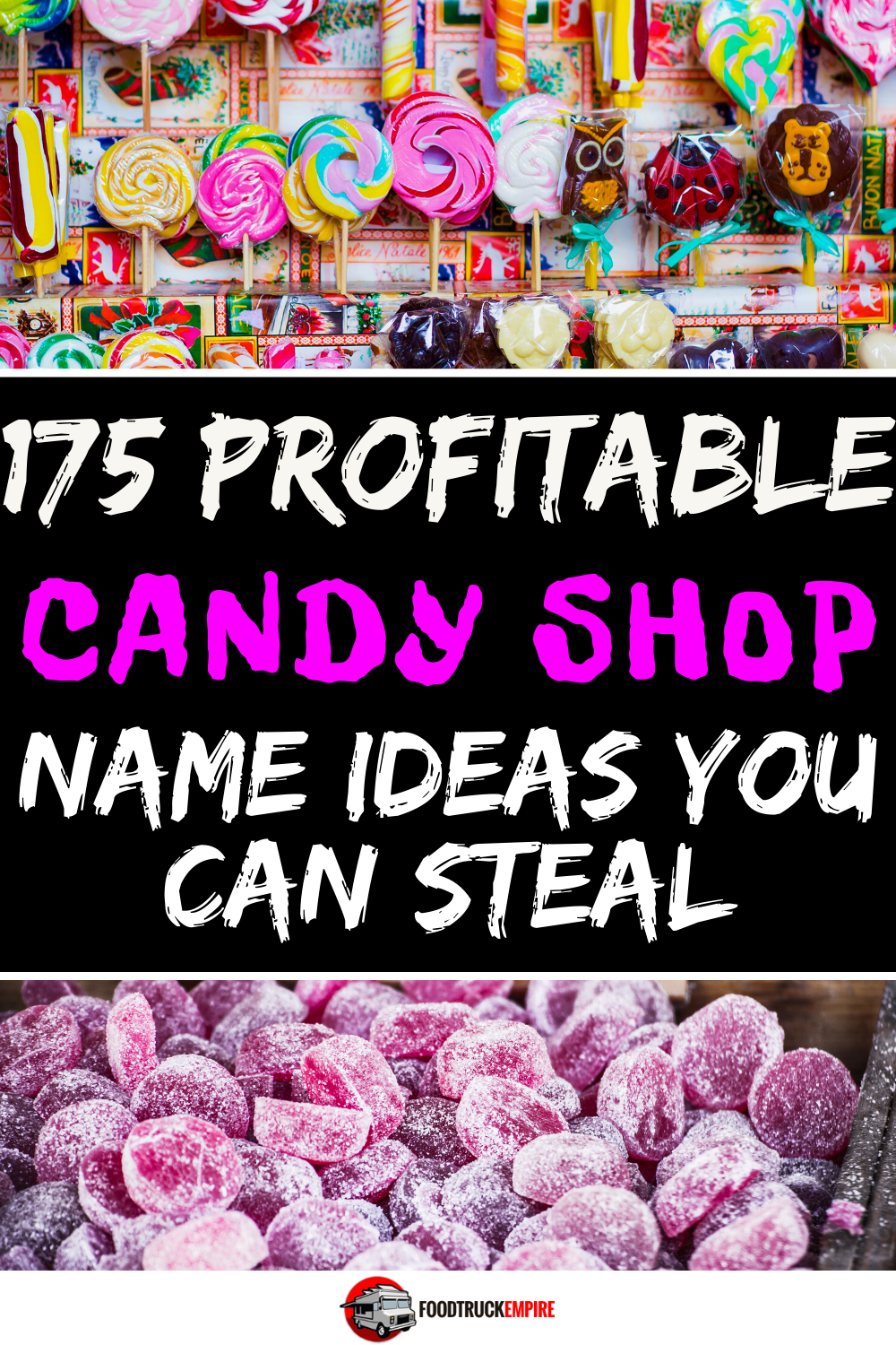 candy shop name ideas