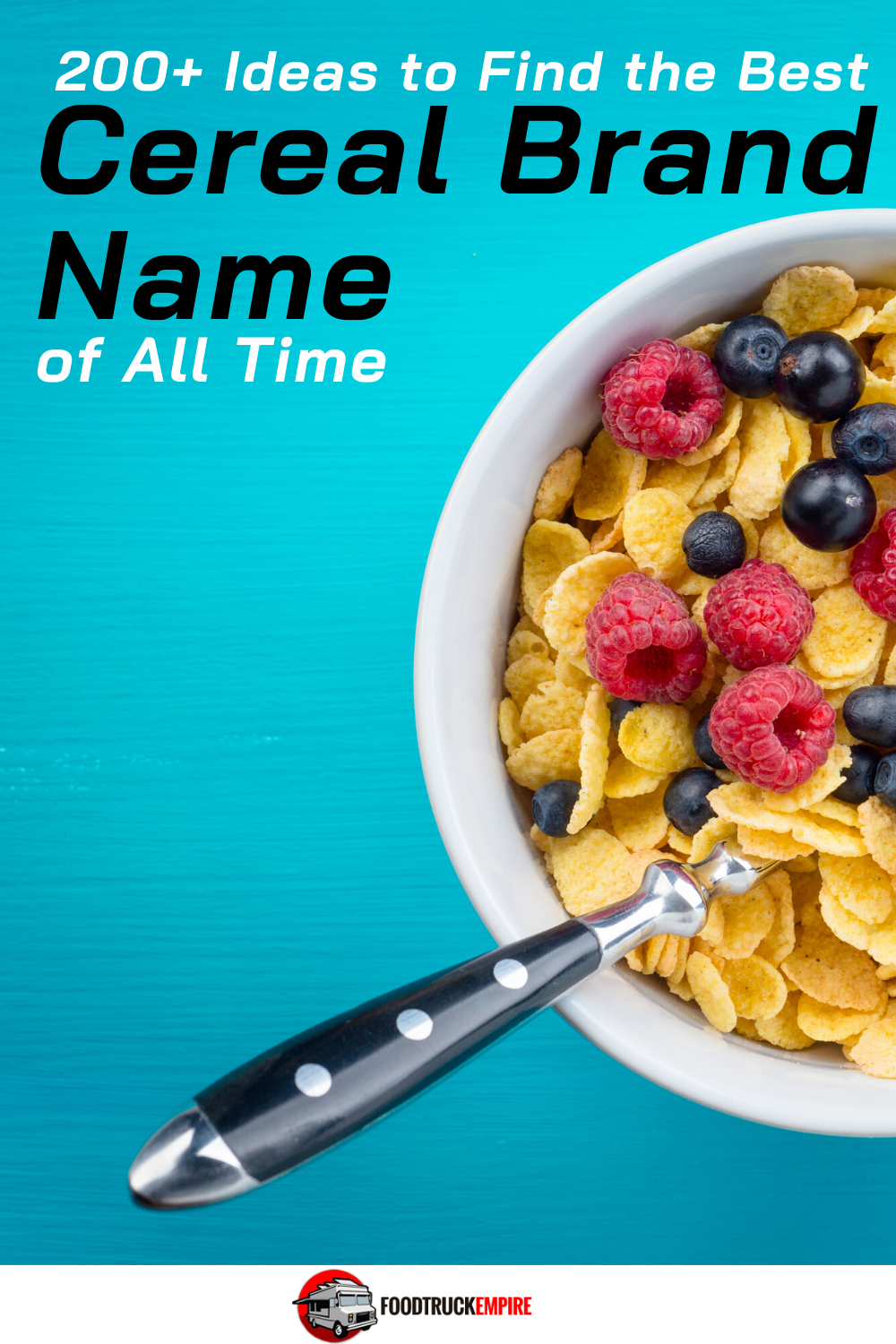 200+ Cereal Brand Name Ideas