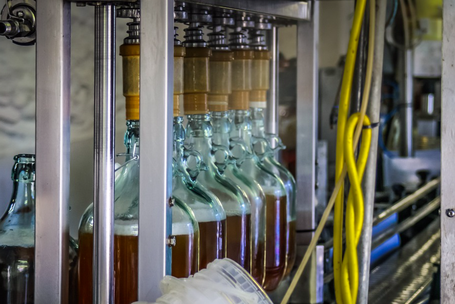 cider bottling plant