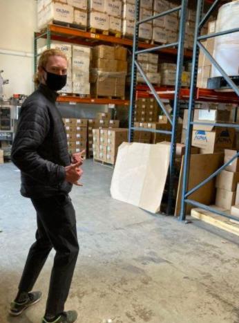 co-packer warehouse