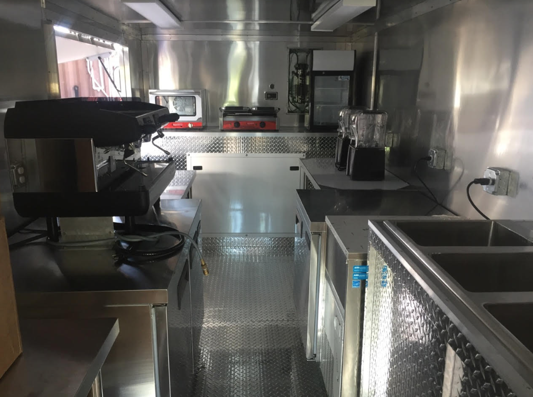 Italian Coffee Milkshake Truck For Sale In Florida
