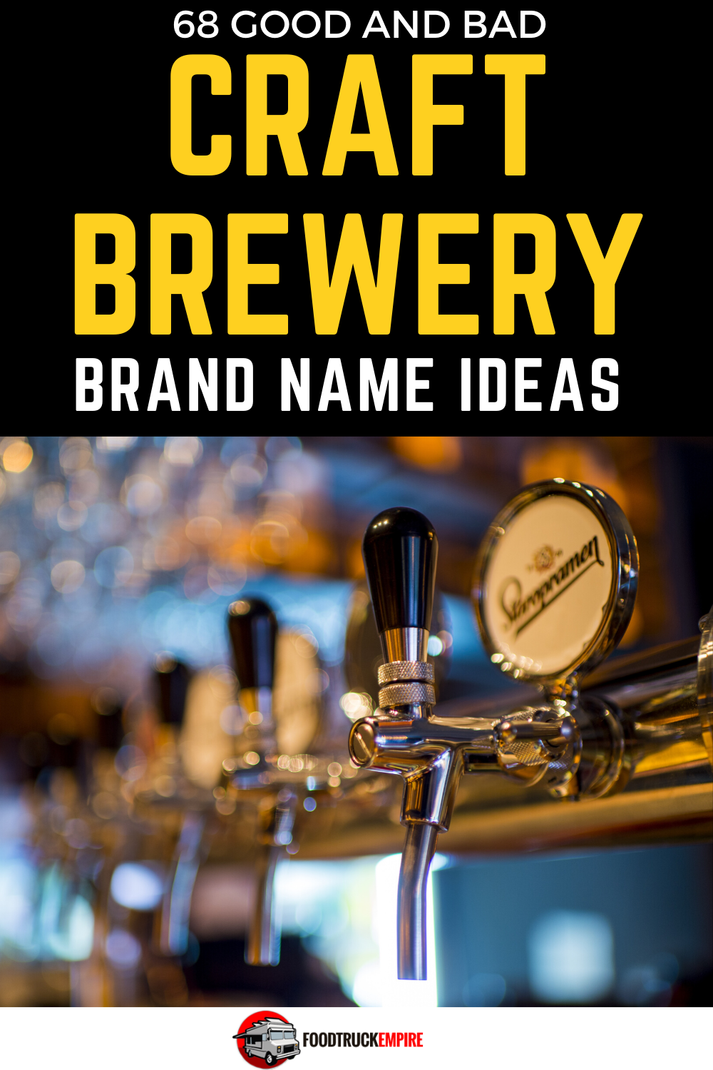 68 Good and Brad Craft Brewery Name Ideas