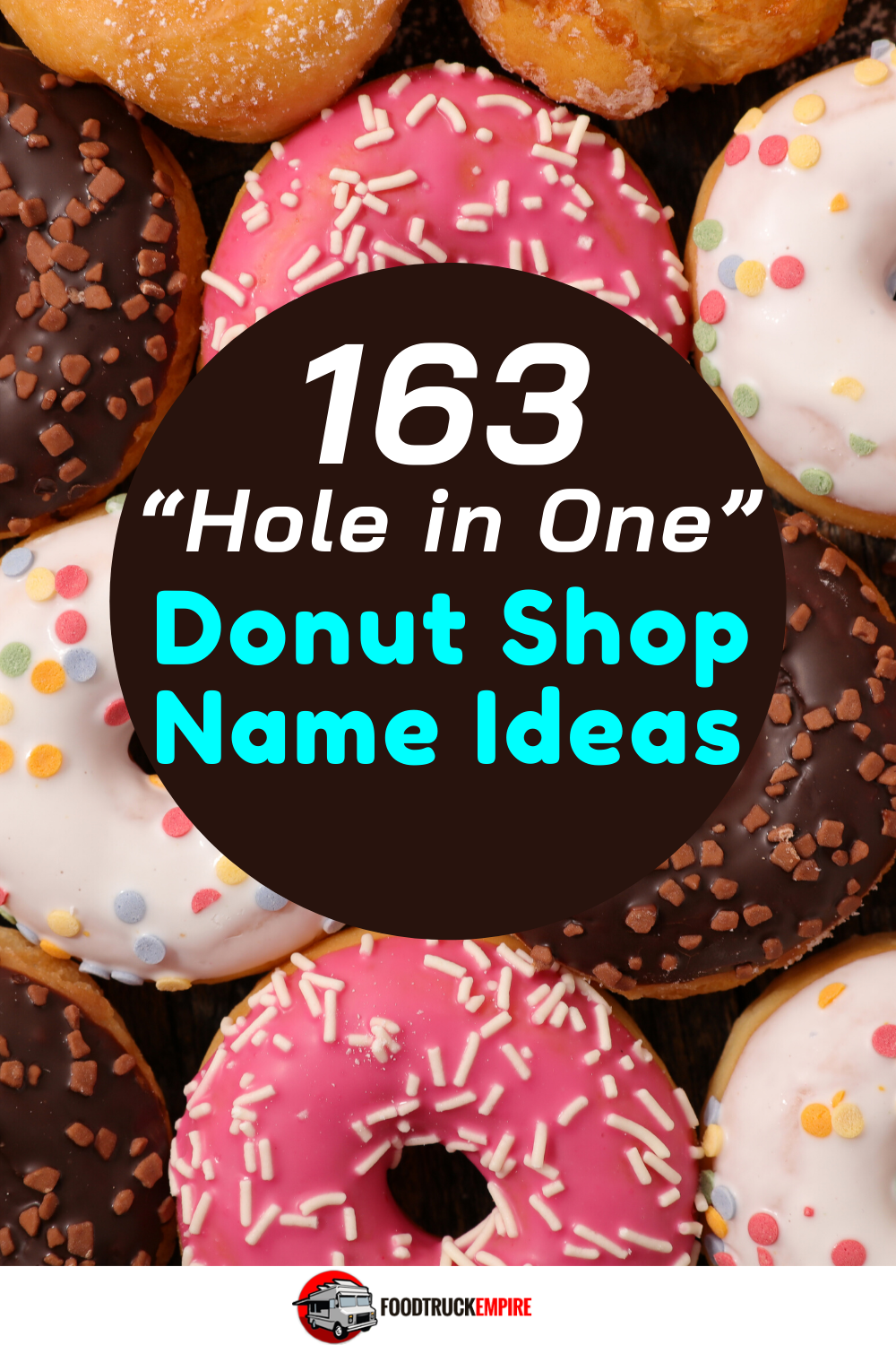 "163 ""Hole in One"" Donut Shop Name Ideas"