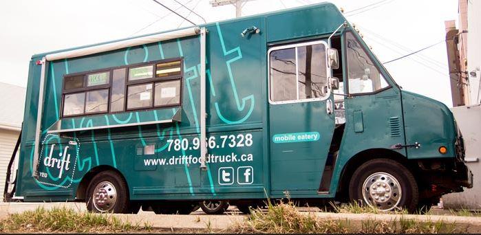 The Drift Food Truck in Edmonton.