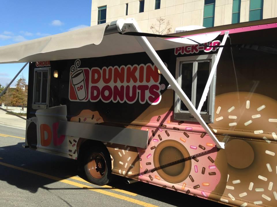 dunkin donuts canopy
