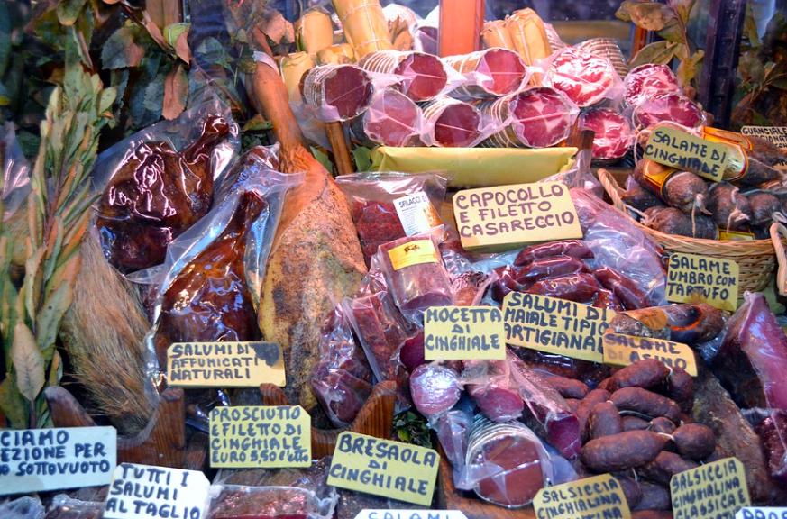 encased meat