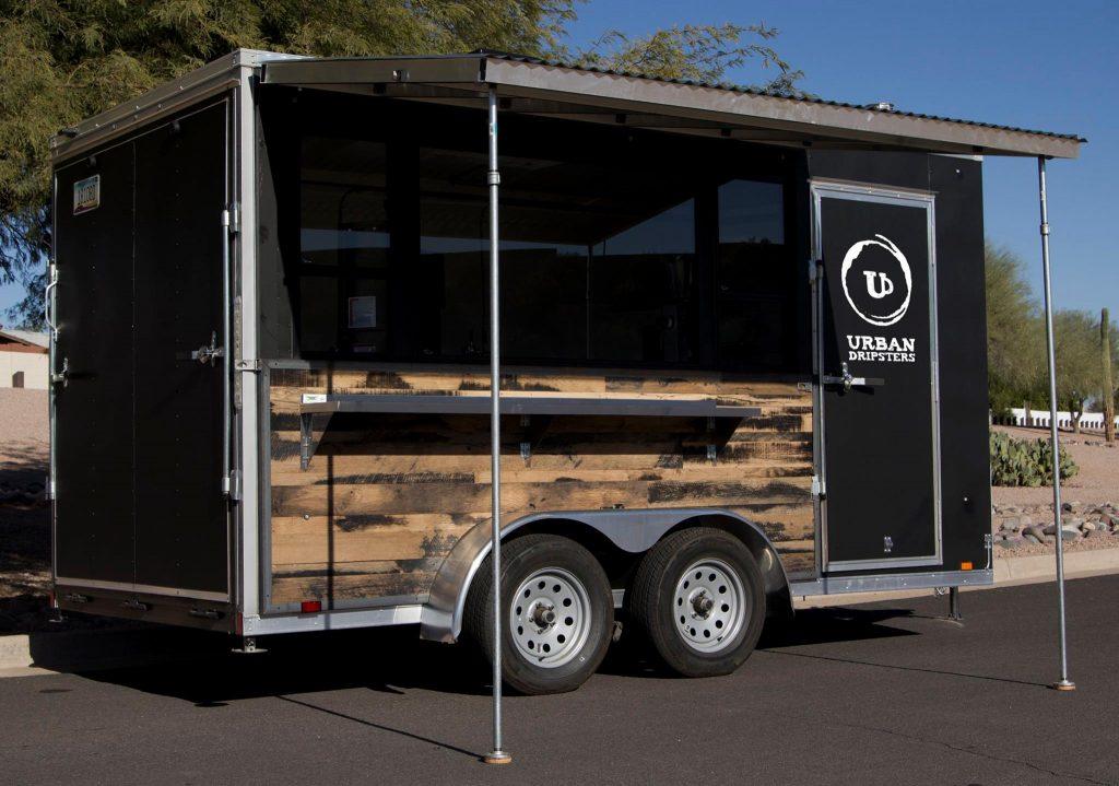 Used 14 Black Coffee Trailer For Sale In Mesa Arizona