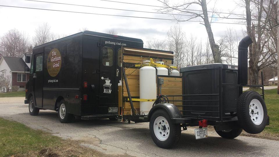 Custom Coffee Panini Juice Truck For Sale Near Portland Maine