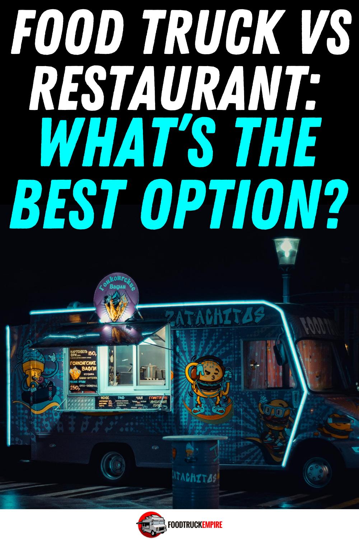 food truck vs restaurant